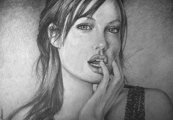 Angelina Jolie por Gamor
